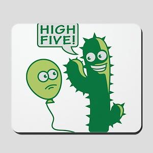 cactus_high_five Mousepad