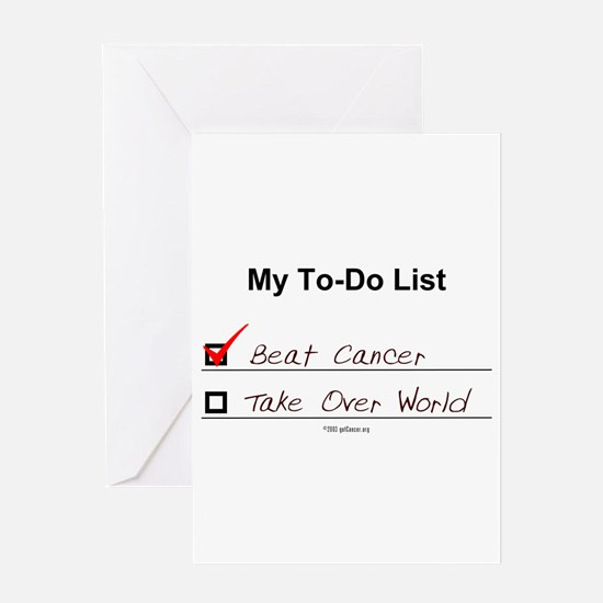 10 x 5 - My To Do List Greeting Cards