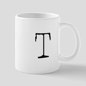 Acoustic Monogram T Mug