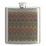 Indian Beadwork Flask