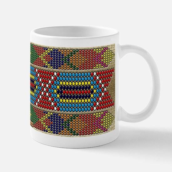 Indian Beadwork Mug