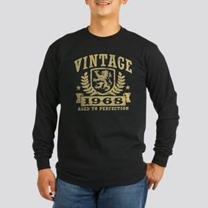 Vintage 1968 Long Sleeve Dark T-Shirt
