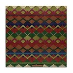Native American Indian Beadwork Tile Coaster