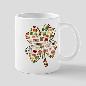 Paleo 4-Leaf Clover Mug
