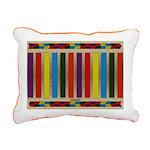 Native American Indian B Rectangular Canvas Pillow