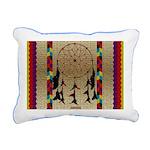 Indian Dreamcatcher Rectangular Canvas Pillow