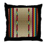 Native American Indian Beadwork Throw Pillow