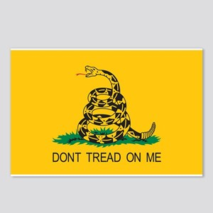 Gadsden Flag - Don't Tread On Postcards (Package o