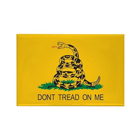 Gadsden Flag - Don't Tread On Rectangle Magnet