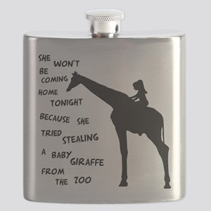 Giraffenapping Flask