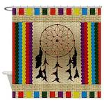 Indian Dreamcatcher Shower Curtain
