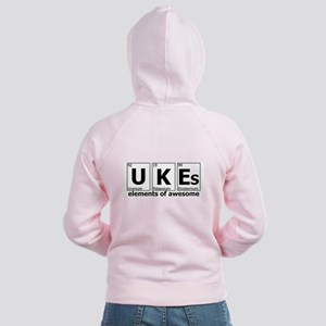 UKEs Elements of Awesome Women's Zip Hoodie