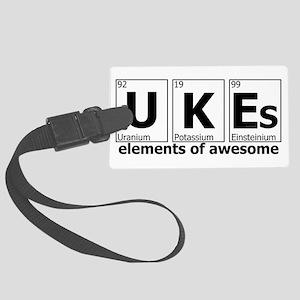 UKEs Elements of Awesome Large Luggage Tag