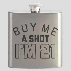 Buy Me A Shot I'm 21 Flask