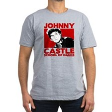 Johnny Castle Dance Bold Men's Fitted T-Shirt