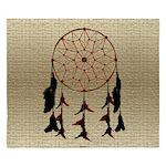 Native American Dreamcatcher King Duvet