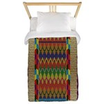 Native American Indian Beadwork Twin Duvet Cover