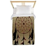 Native American Dreamcatcher Twin Duvet Cover