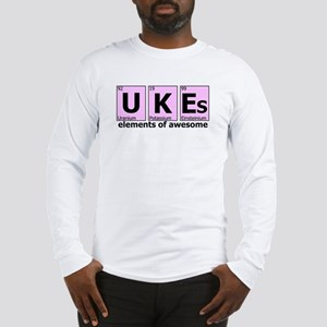 UKEs - Elements of Awesome Long Sleeve T-Shirt