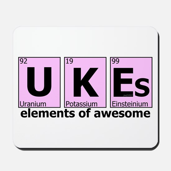 UKEs - Elements of Awesome Mousepad