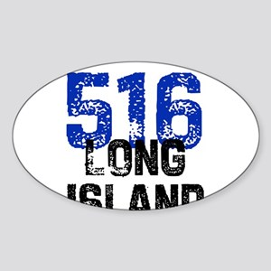 516 Oval Sticker