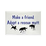 Adopt A Mutt Rectangle Magnet (10 pack)