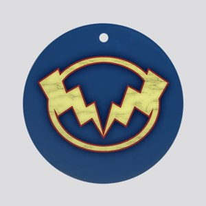 Lightning Bolts Ornament (Round)