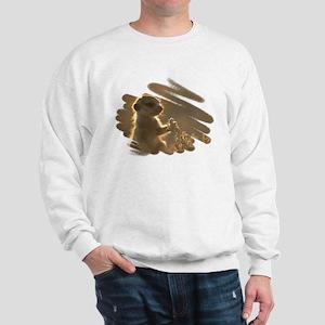 """""""Meerkat #18"""" Sweatshirt"""