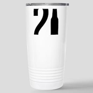 21 years old 16 oz Stainless Steel Travel Mug