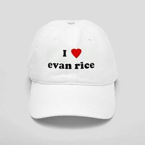 I Love evan rice Cap