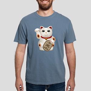 Kawaii Japanese Lucky Ca Mens Comfort Colors Shirt