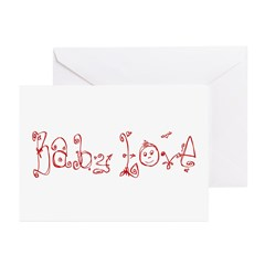 Baby Love Greeting Cards (Pk of 10)