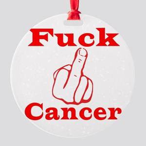 cancer Round Ornament