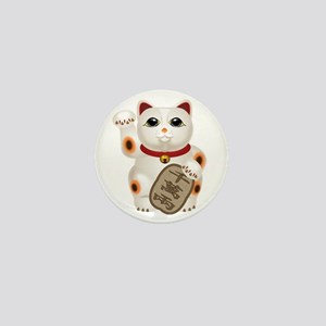 Kawaii Japanese Lucky Cat Mini Button