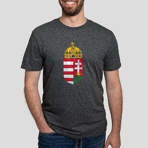 Coat of arms of Hungary - H Mens Tri-blend T-Shirt