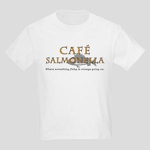 Cafe Salmonella Kids T-Shirt