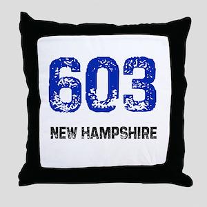 603 Throw Pillow