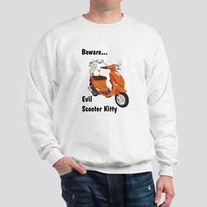 Evil Kitty Buddy Sweatshirt