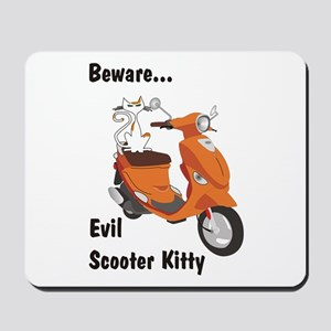 Evil Kitty Buddy Mousepad