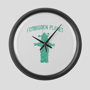 Vintage Forbidden Planet Robot Large Wall Clock