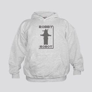 Robby the Robot Outline Hoodie