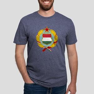 Hungarian People's Repu Mens Tri-blend T-Shirt
