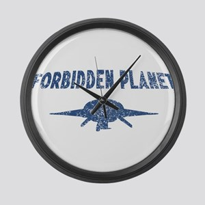 Forbidden Planet C-57D Large Wall Clock