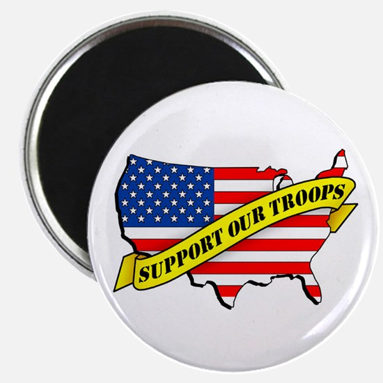 "Support Our Troops! 2.25"" Magnet (10 pack)"