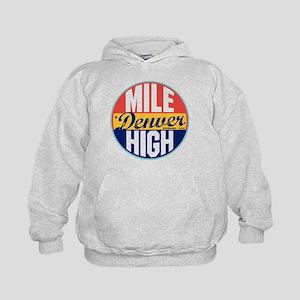 Denver Vintage Label Kids Hoodie
