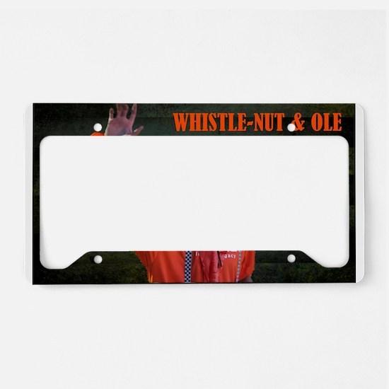 Whsitle-Nut Image License Plate Holder