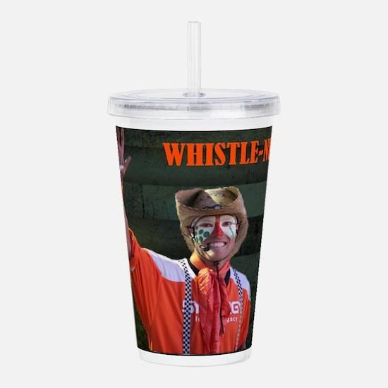 Whsitle-Nut Image Acrylic Double-wall Tumbler