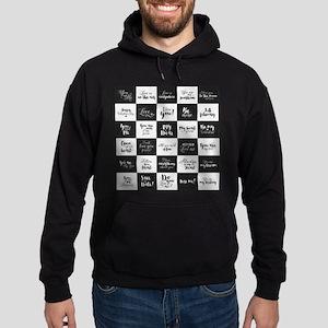 Love Black&White Sweatshirt