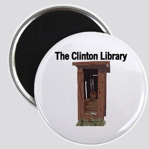 Clinton Library Magnet