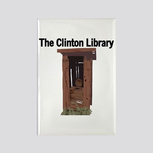 Clinton Library Rectangle Magnet